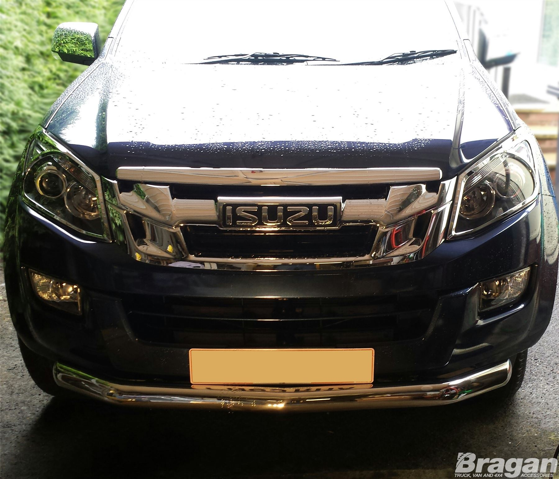 To Fit 16 Isuzu D Max Rodeo Stainless Steel Front Bumper