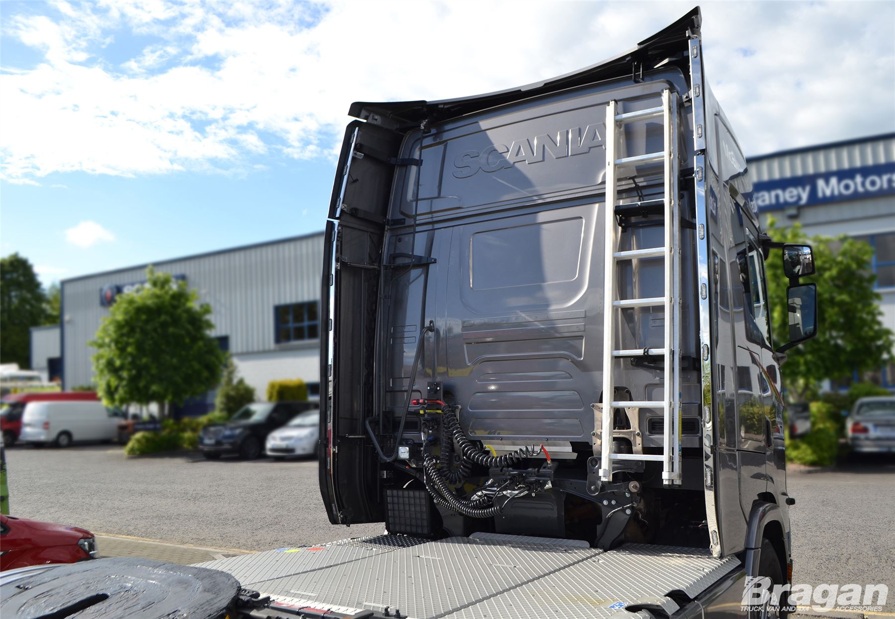 Details about To Fit New Generation 2017+ Scania R Series High Cab  Perimeter Wind Kit + LEDs