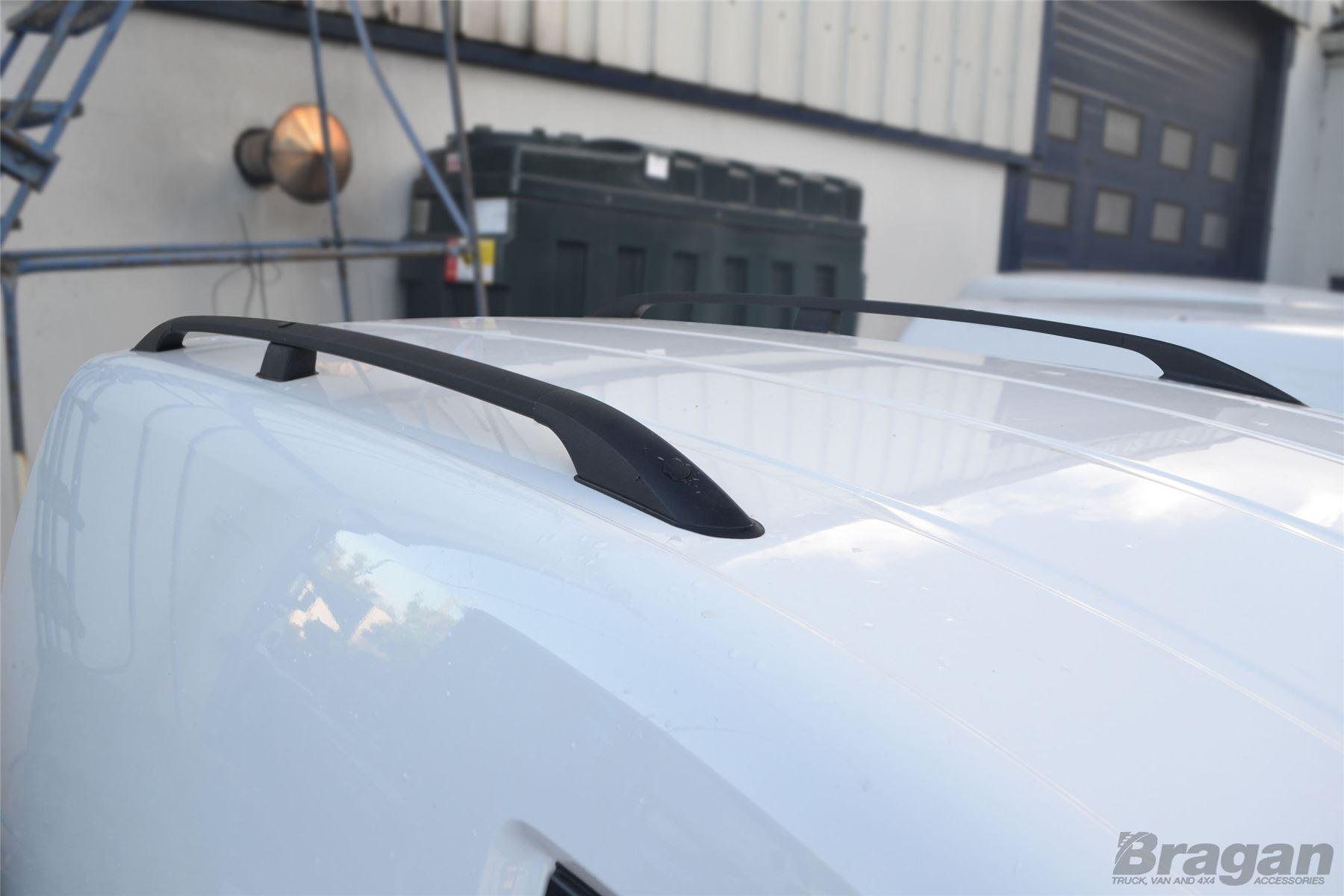 To Fit 10 15 Vw Volkswagen Caddy Maxi Black Aluminium