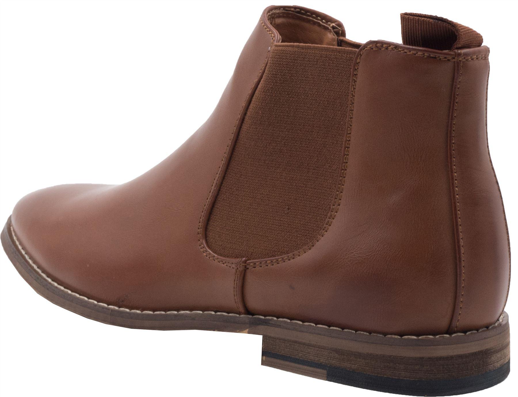 Chelsea boots bottines maron camel à doublure intérieure cuir GH3115_TAN hhVOSqu