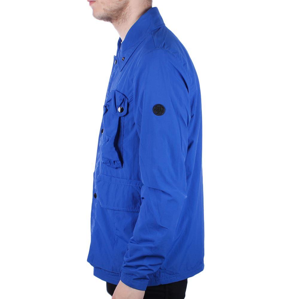 Mens Nicholas Deakins Overlord Dark Navy Lightweight Jacket