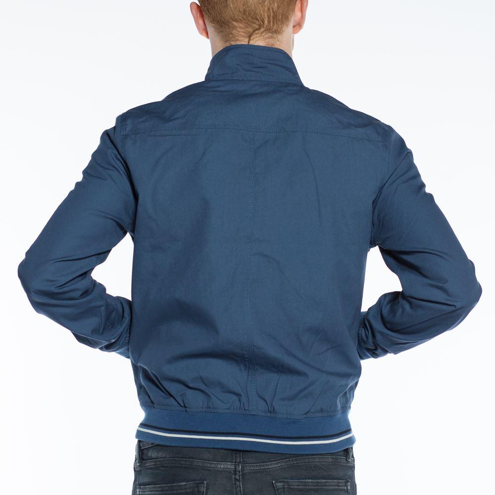 Mens-Schott-Ken-Steel-Blue-Jacket