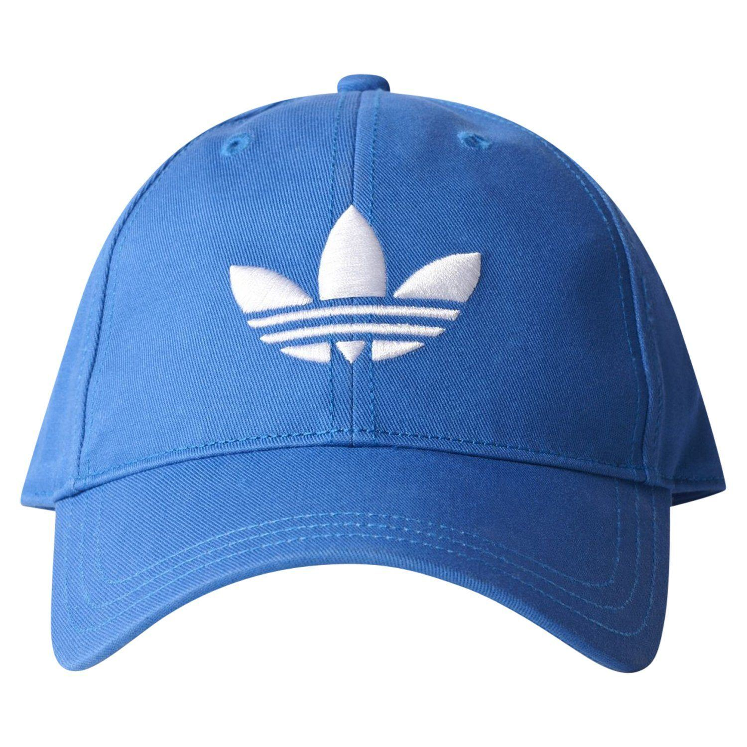 Details about adidas ORIGINALS TREFOIL BASEBALL DAD CAP HAT BLUE MEN S  SUMMER HOLIDAY NEW BNWT f77483e4a814