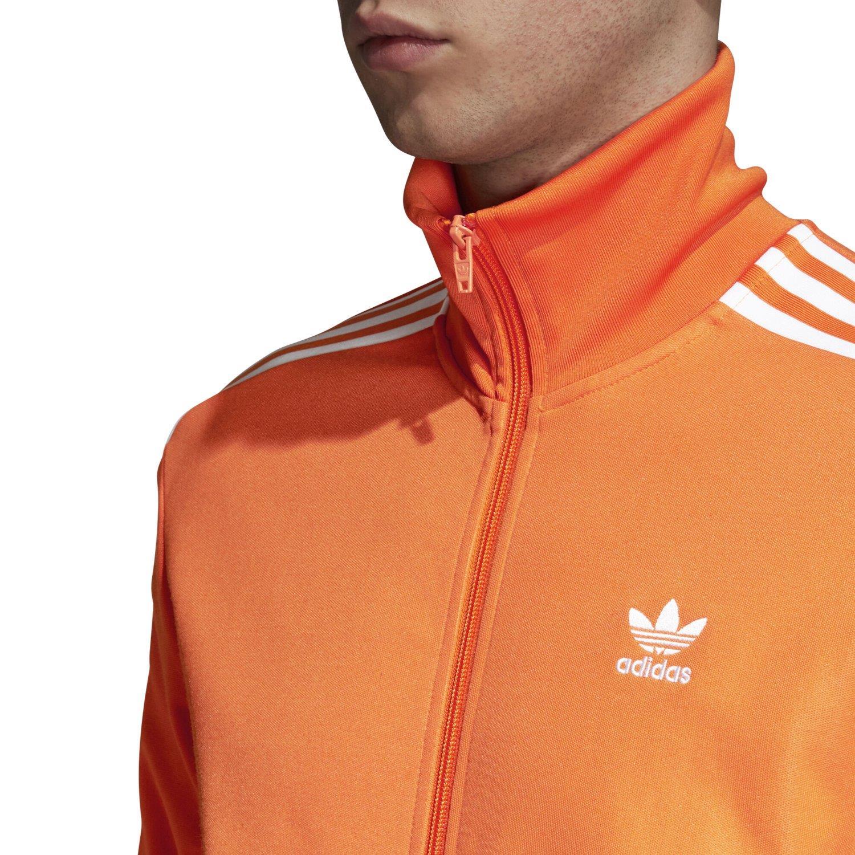 Herrenmode Adidas Original Beckenbauer Trainingsjacke Orange
