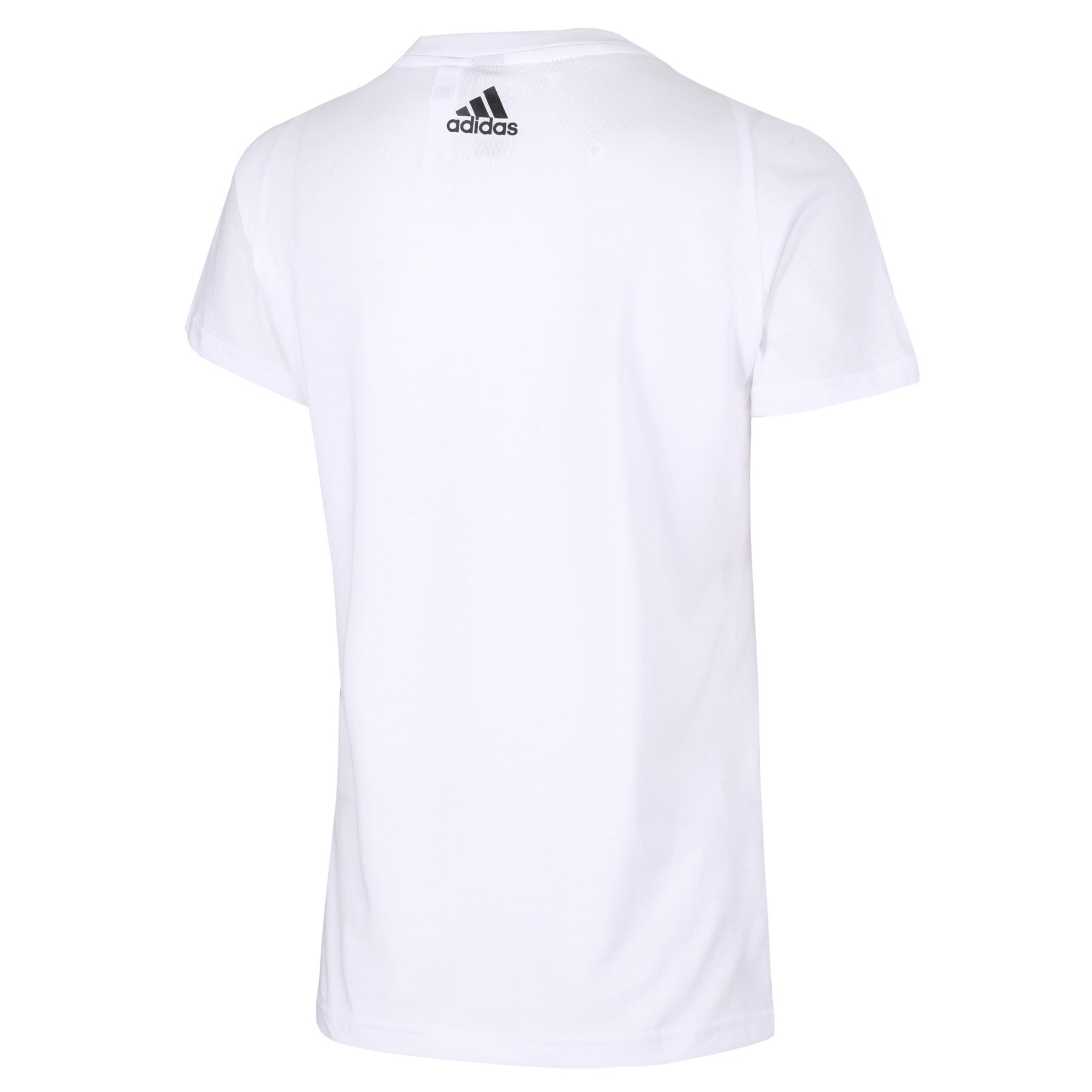 adidas-WOMEN-039-S-ESSENTIALS-LINEAR-T-SHIRT-GYM-BLACK-PINK-WHITE-NAVY-GIRLS-LADIES thumbnail 23