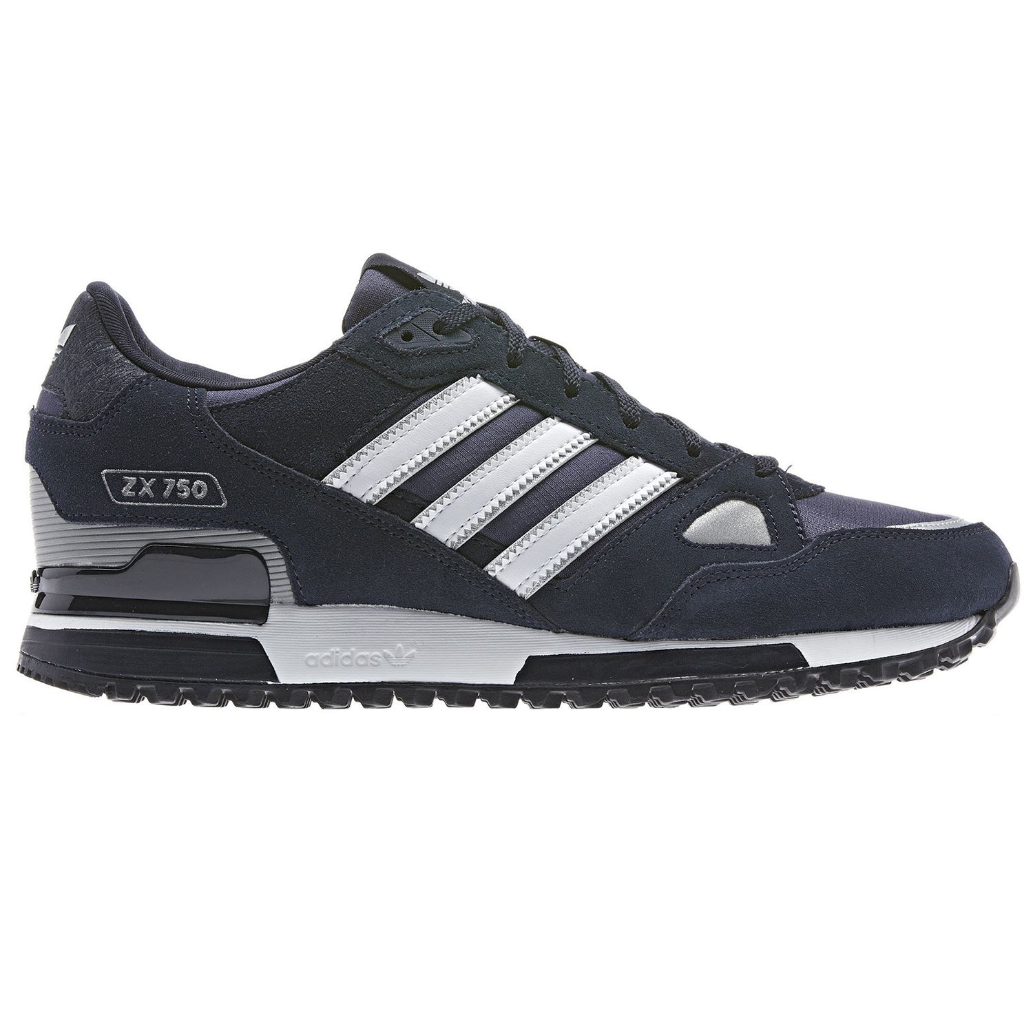 Details about ADIDAS ORIGINALS ZX 750 MENS RUNNING TRAINERS BLUE BLACK NAVY SNEAKERS SHOES NEW