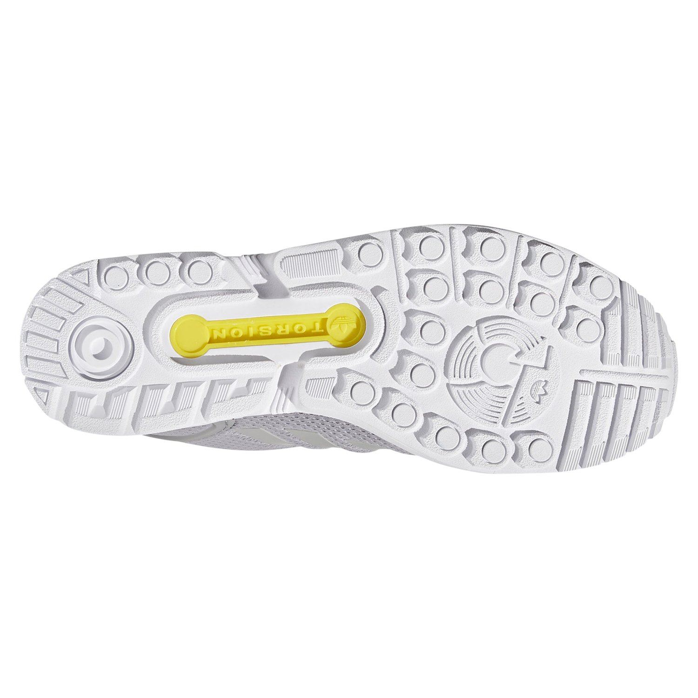 buy popular 3527a bcea1 adidas ORIGINALS MEN S ZX FLUX TRAINERS GREY SNEAKERS SHOES RETRO 3 STRIPES