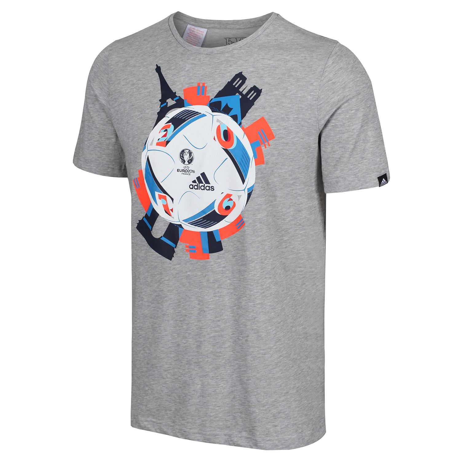 miniature 4 - Adidas-Enfants-Sports-T-Shirt-Garcons-Filles-9-10-To-15-16-ans-football-Crew