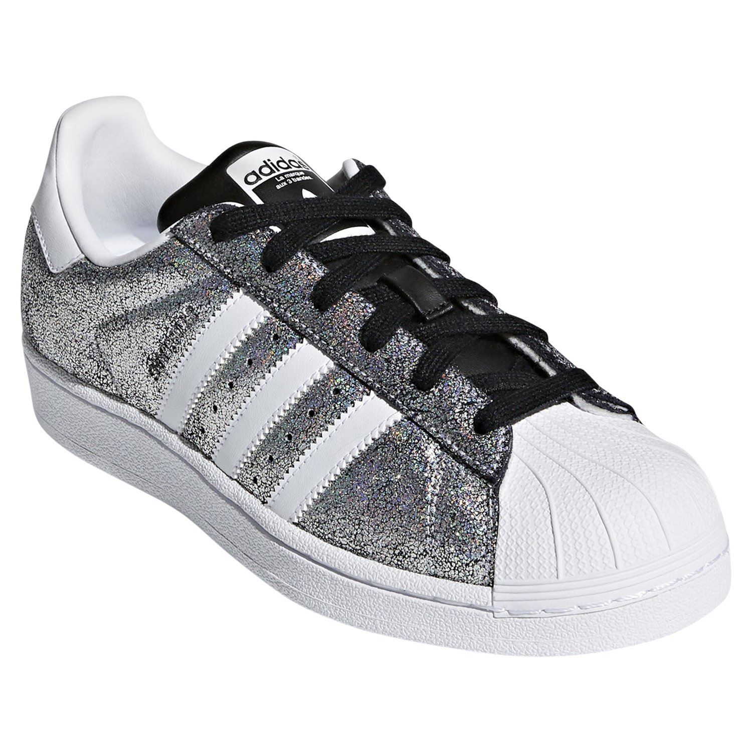 Details about adidas ORIGINALS WOMEN'S SUPERSTAR TRAINERS METALLIC SHINY SNEAKERS SHOES