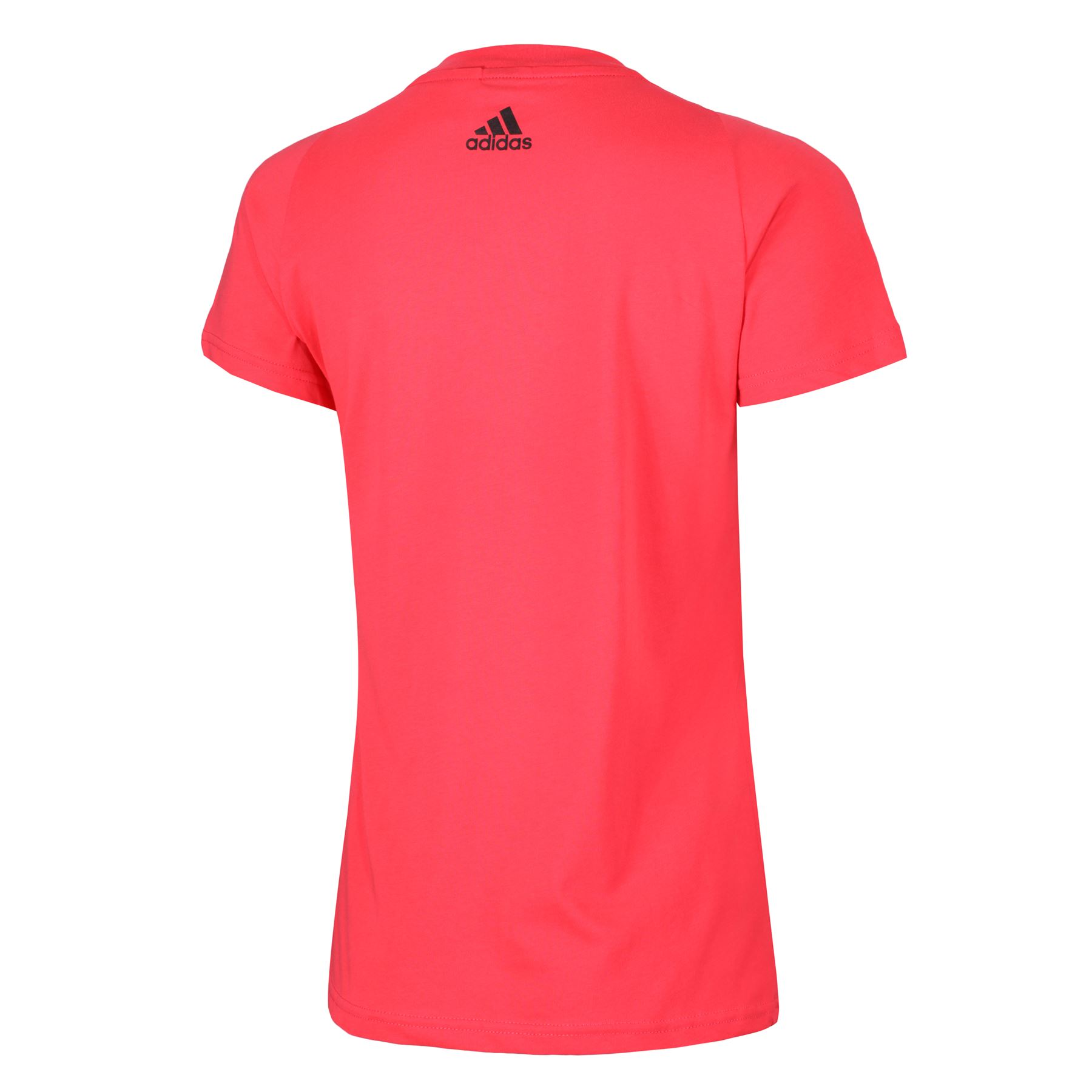 adidas-WOMEN-039-S-ESSENTIALS-LINEAR-T-SHIRT-GYM-BLACK-PINK-WHITE-NAVY-GIRLS-LADIES thumbnail 18