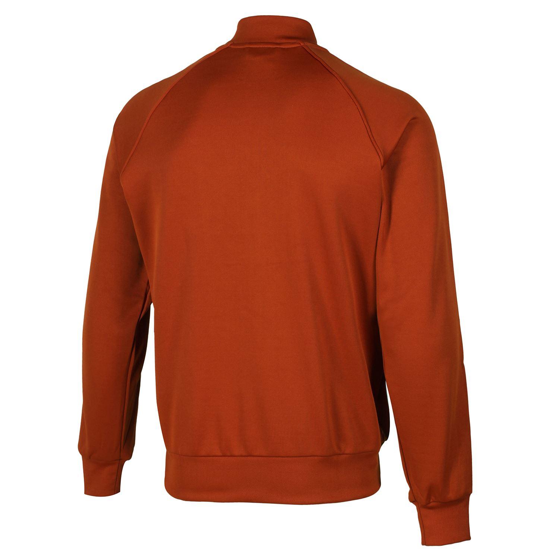adidas ORIGINALS RETRO FOX RED SUPERSTAR TRACK TOP JACKET WHITE TREFOIL 3  STRIPE e0d228fbe58aa