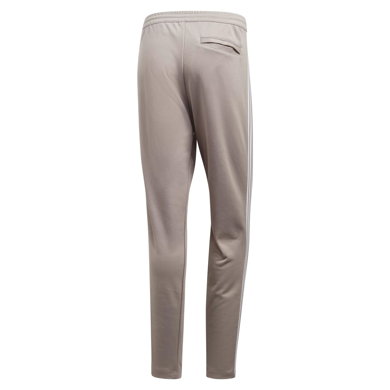 5a53e877fc2 Adidas ORIGINALS BECKENBAUER pista TOP pantalones Chandal BEIGE RETRO  fondos nuevos