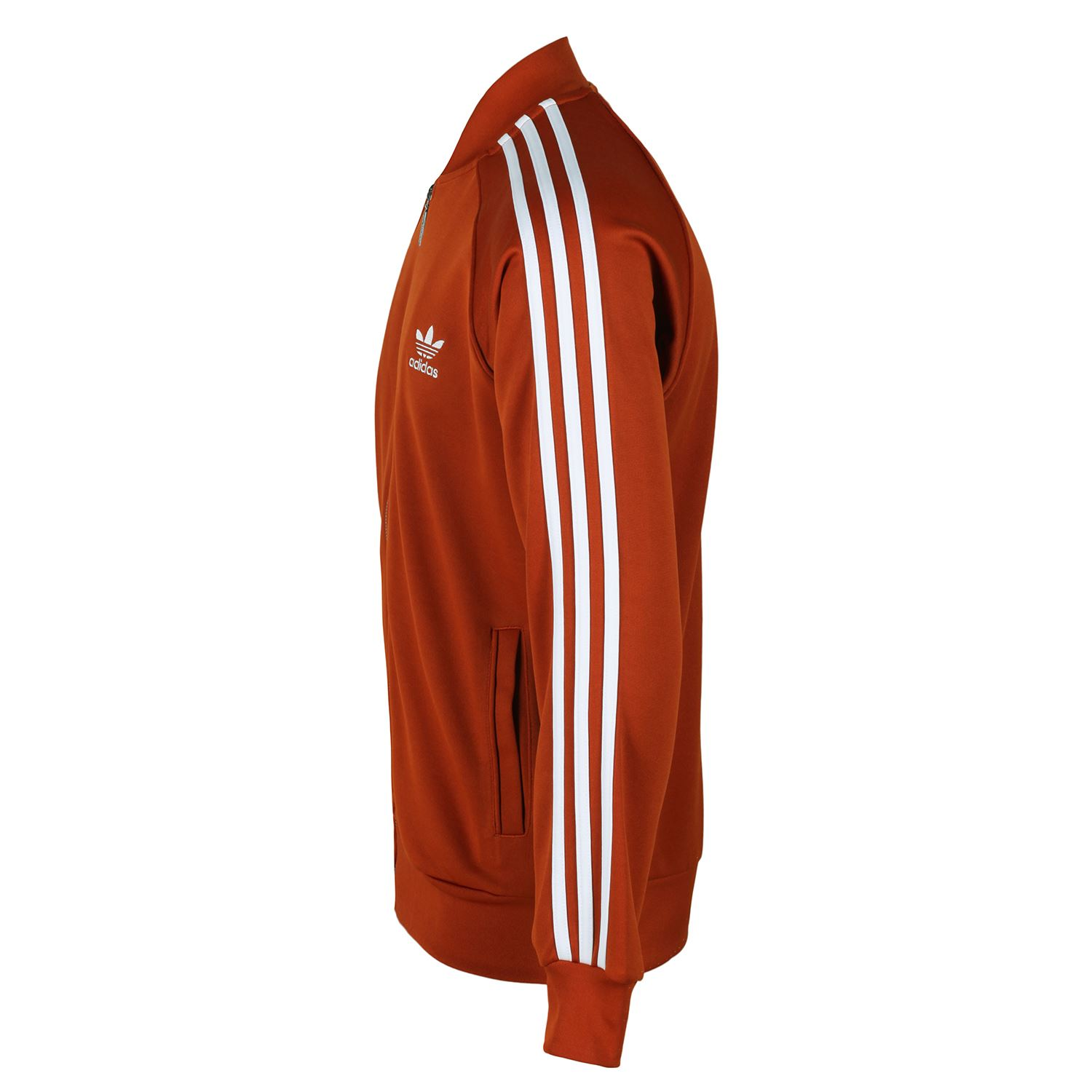 Details about adidas ORIGINALS MEN'S SUPERSTAR TRACK TOP JACKET TREFOIL FOX RED RETRO VINTAGE