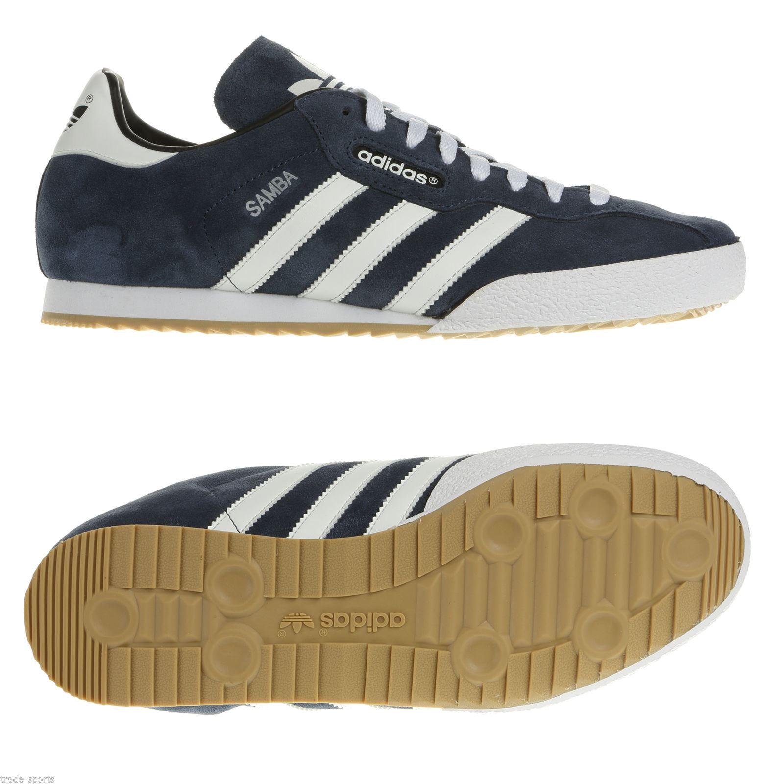 navy adidas trainers mens