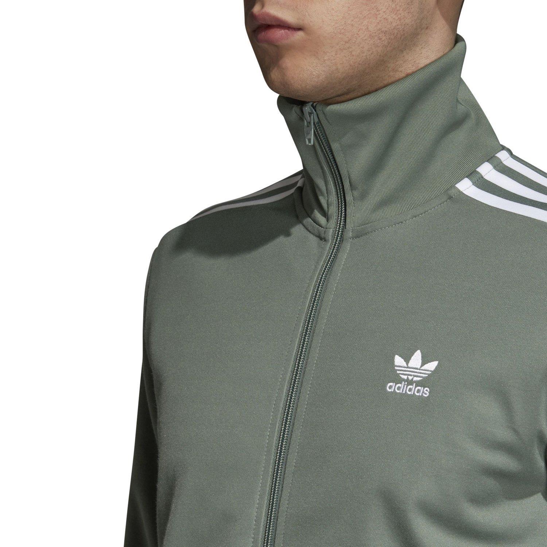 Details about adidas ORIGINALS MEN'S BECKENBAUER JACKET GREEN RETRO VINTAGE NEW BNWT TREFOIL