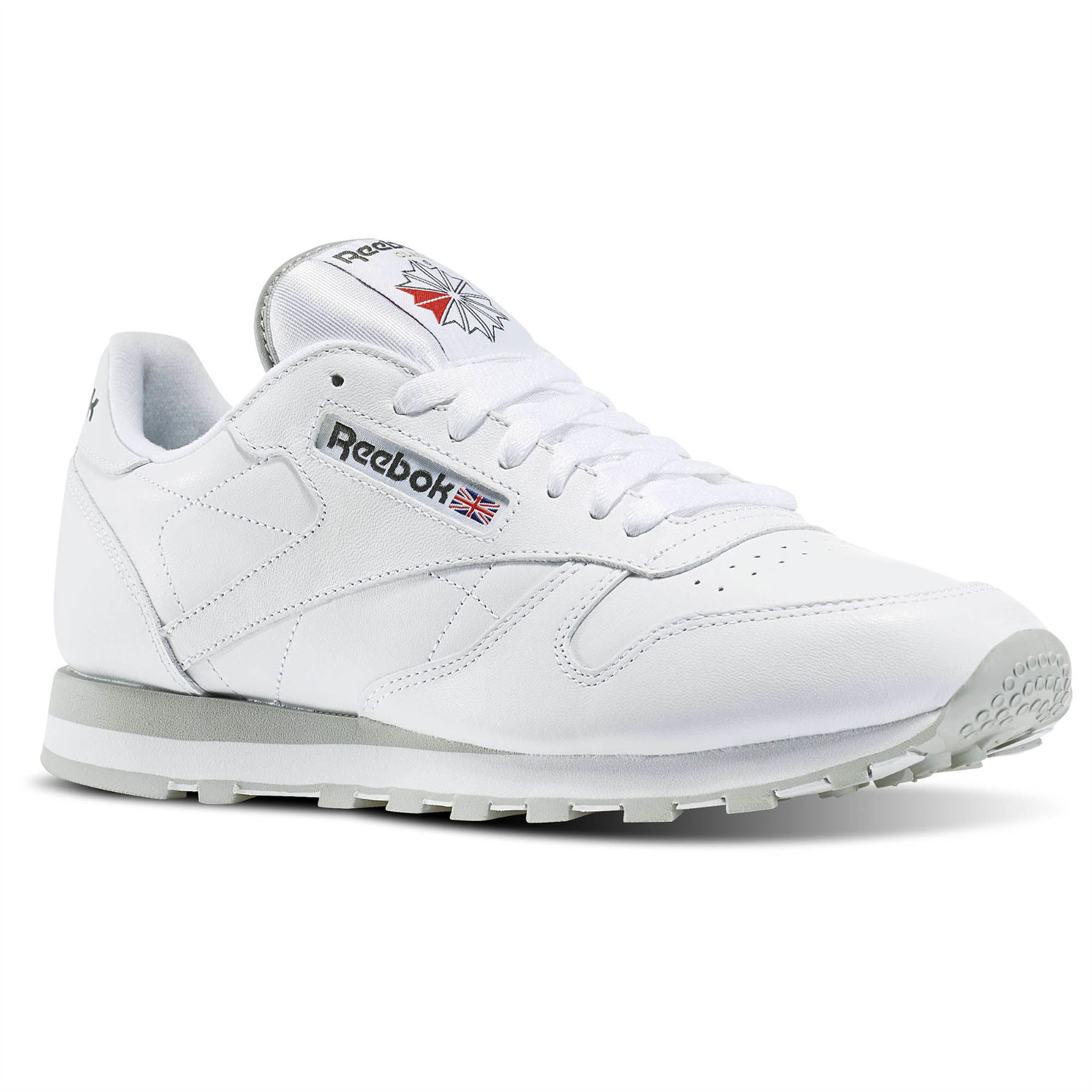 6e5ba5f7bfb5 REEBOK CLASSIC 2214 LEATHER SHOES BACK TO SCHOOL SNEAKERS TRAINERS BRITISH  WHITE