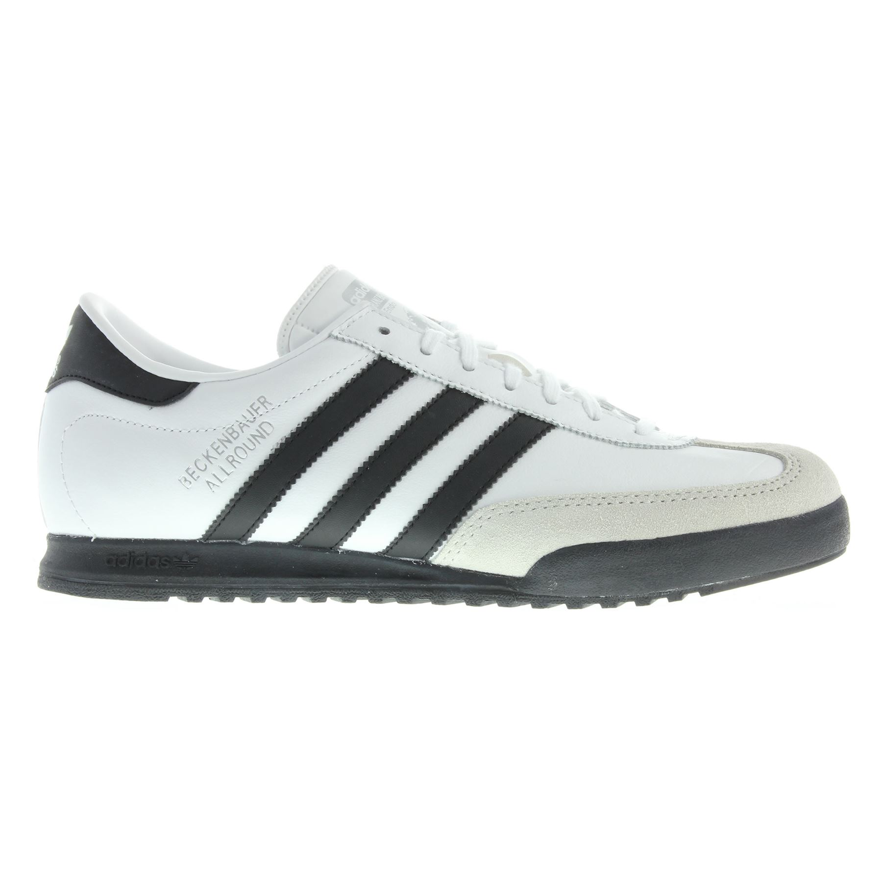 f93b069a1fb3 ADIDAS ORIGINALS MEN S TRAINERS BECKENBAUER ALL ROUND BLUE WHITE BLACK  BROWN