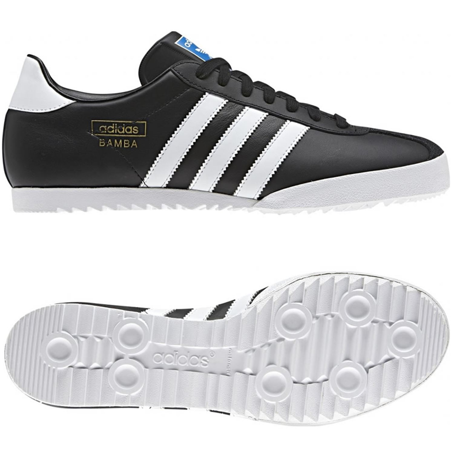 men's adidas black gazelle 70s trainers
