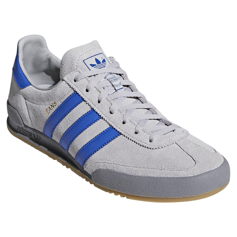 Détails sur Adidas ORIGINALS Homme Jeans Baskets Baskets Chaussures Gris Retro Vintage Casual afficher le titre d'origine