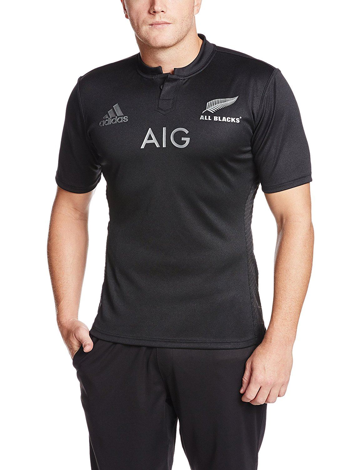 a6956443b3e adidas NEW ZEALAND ALL BLACKS JERSEY 3XL RUGBY MEN'S CLIMALITE WORLD CUP