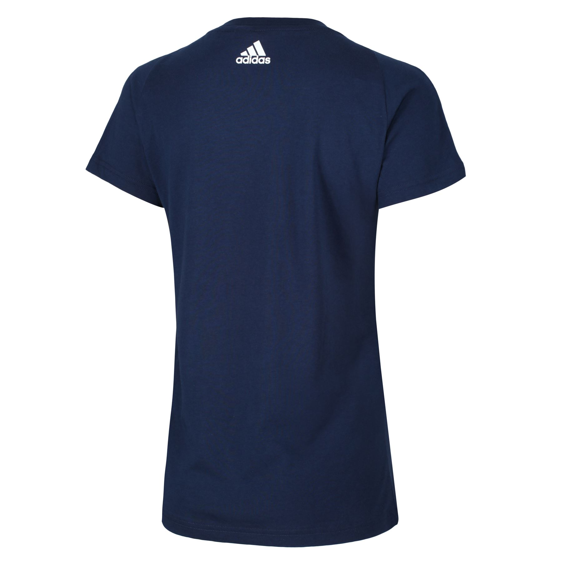 adidas-WOMEN-039-S-ESSENTIALS-LINEAR-T-SHIRT-GYM-BLACK-PINK-WHITE-NAVY-GIRLS-LADIES thumbnail 13