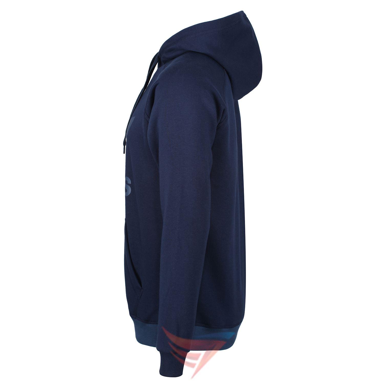 Adidas-Originals-Trefoil-Hoodie-navy-weiss-Groessen-S-M-L-XL-Pullover-Herren-Warm Indexbild 4