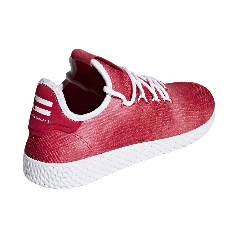 ef161149f adidas PHARRELL WILLIAMS HU TENNIS SHOES RED SNEAKERS TRAINERS RETRO NEW  KICKS