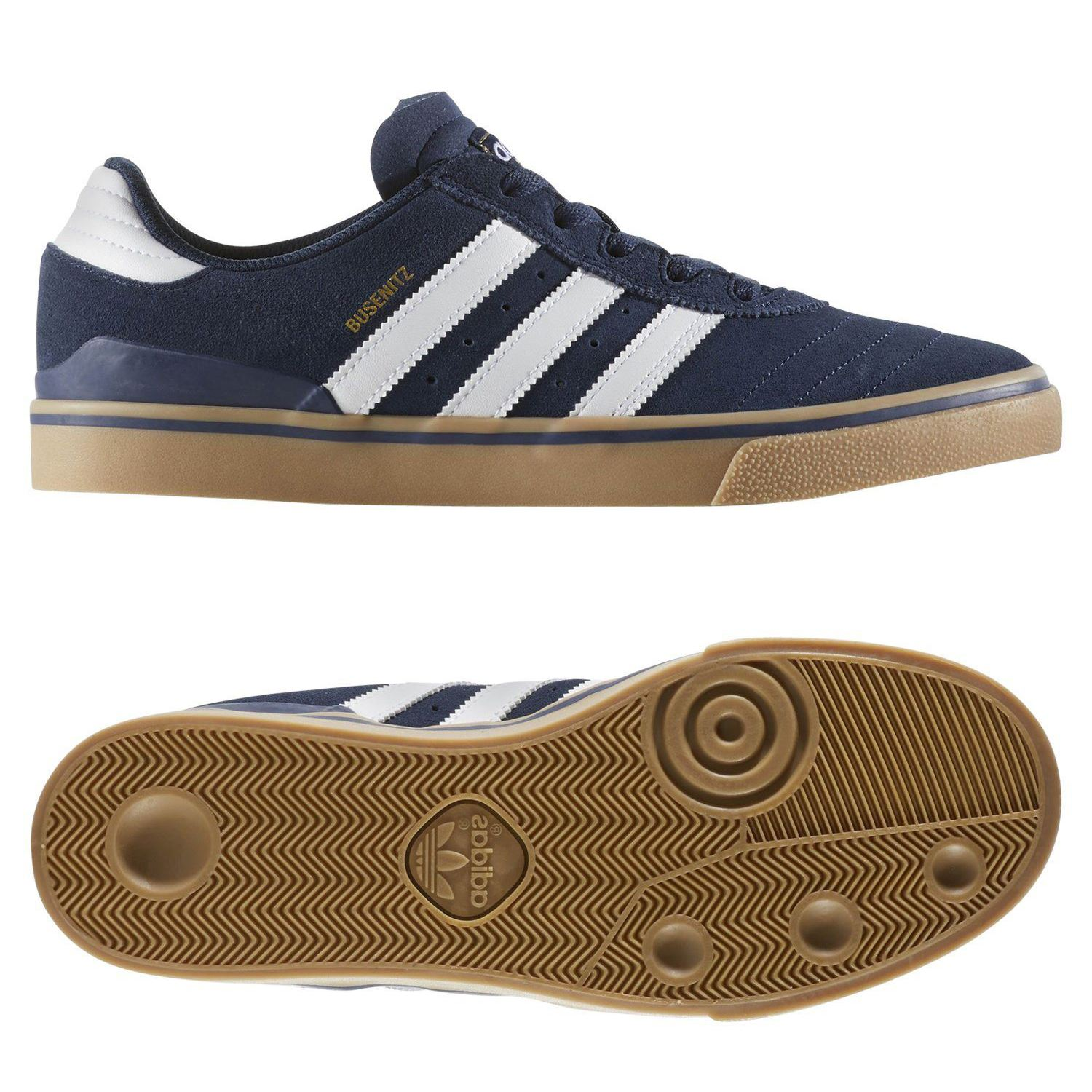 hot sale online b0362 d5af2 Details about adidas ORIGINALS BUSENITZ VULC TRAINERS NAVY MENS  SKATEBOARDING SHOE NEW BNWT
