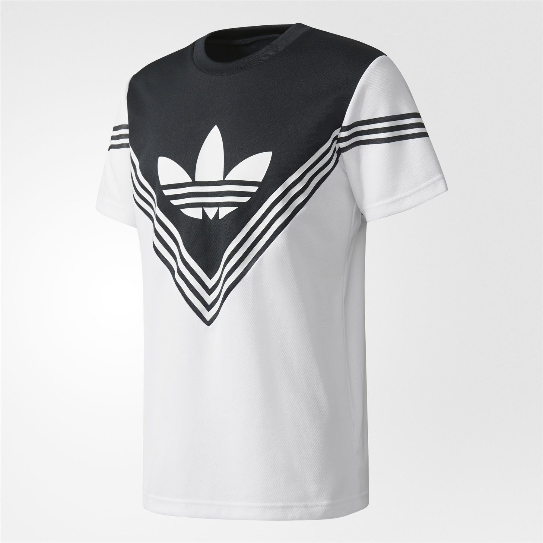 72ce497f2b99 Details about adidas ORIGINALS X WHITE MOUNTAINEERING FOOTBALL JERSEY WHITE  BLACK RETRO MEN S