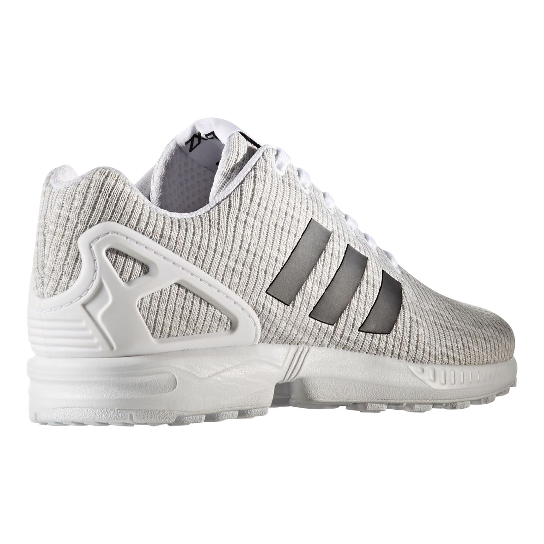 Details zu Adidas Original HERREN Zx Flux Weiß Trainer Schuhe Turnschuhe Trefoil Retro Neu