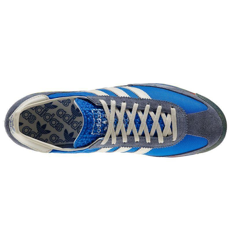 ADIDAS-ORIGINALS-SL-72-Baskets-Retro-Rare-Deadstock-Bleu-Baskets-Chaussures-Kicks miniature 3