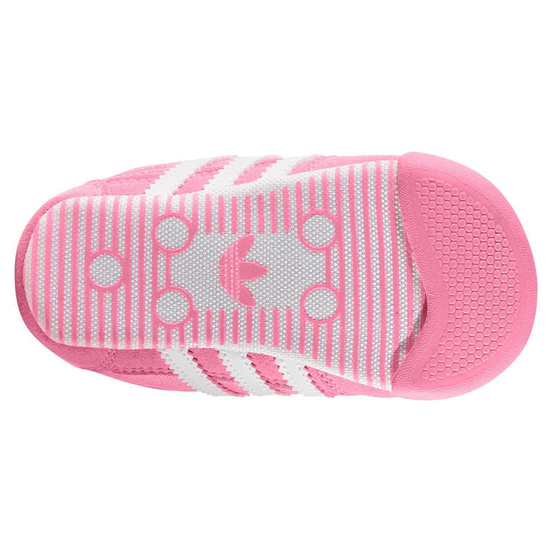 4cfeda8e4 Adidas ORIGINALS DRAGON L2W cuna entrenadores rosa botines zapatos bebé  niños chicas nuevo