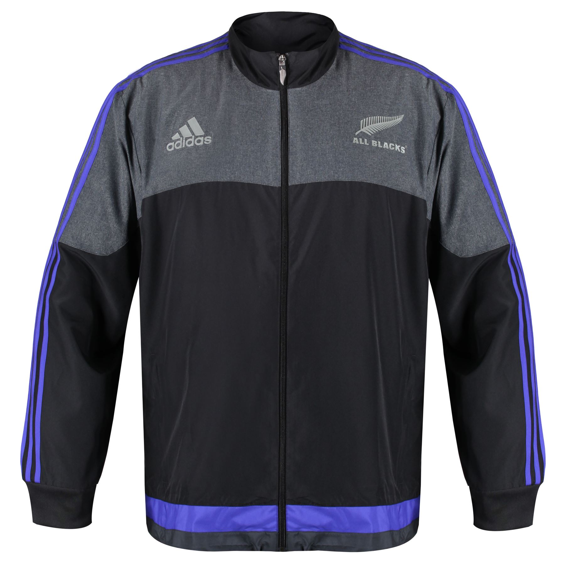 check out 4b9d8 3d814 Details about adidas NEW ZEALAND ALL BLACKS PRESENTATION JACKET BLACK 3XL  XXXL RUGBY MENS BIG