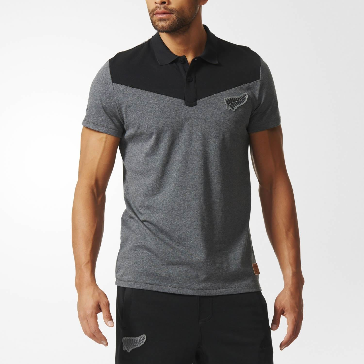 Grey Cup Shirt Adidas New Black Men's World Polo About Rugby All Details Zealand Blacks 4LR5Aj