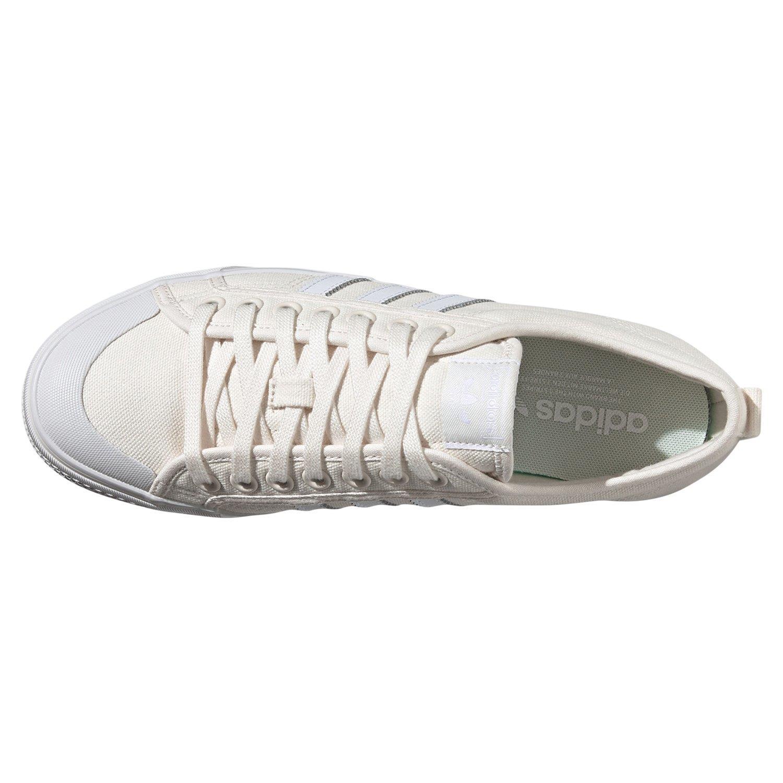 Détails sur Adidas ORIGINALS Homme NIZZA LO Chaussures Blanc cassé Skateboard Toile Baskets afficher le titre d'origine