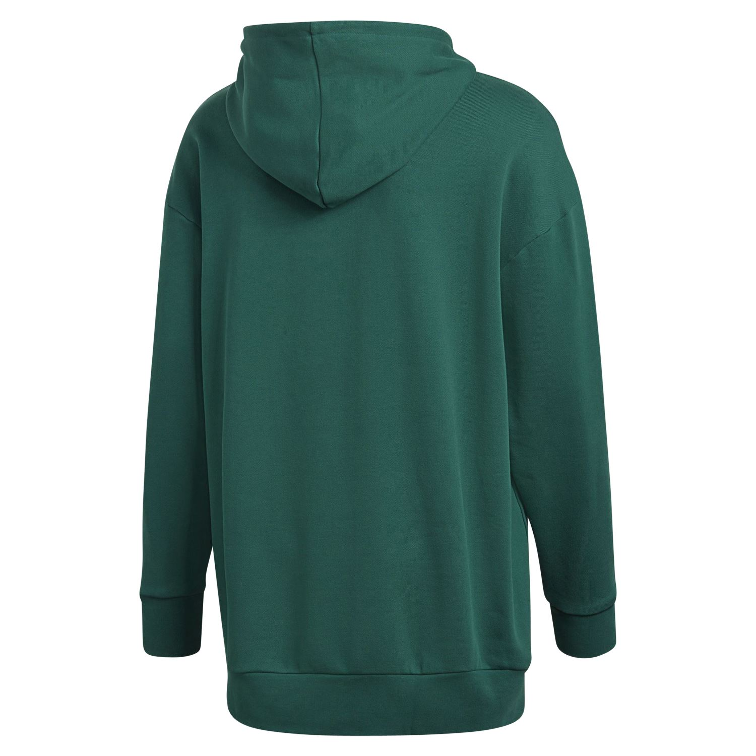 half off 0e709 eaa48 Details about adidas ORIGINALS MEN S TREFOIL OVERHEAD HOODIE GREEN RETRO  PULLOVER GYM WARM