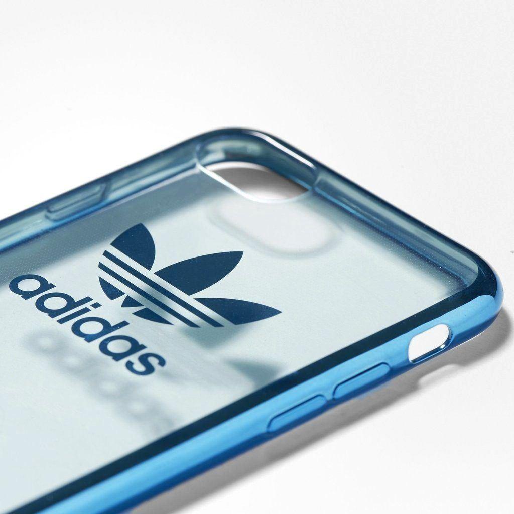 adidas originals iphone 7 plus handyh lle blau mobil. Black Bedroom Furniture Sets. Home Design Ideas
