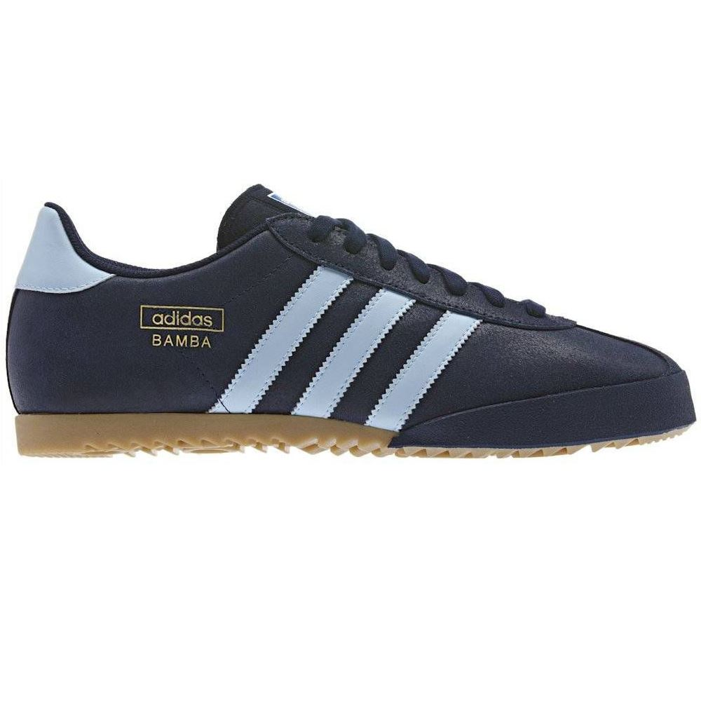 ADIDAS ORIGINALS SNEAKERS BAMBA TRAINERS Blau Schuhe SNEAKERS ORIGINALS SIZE 7 - 12 RETRO BNWT d9835f