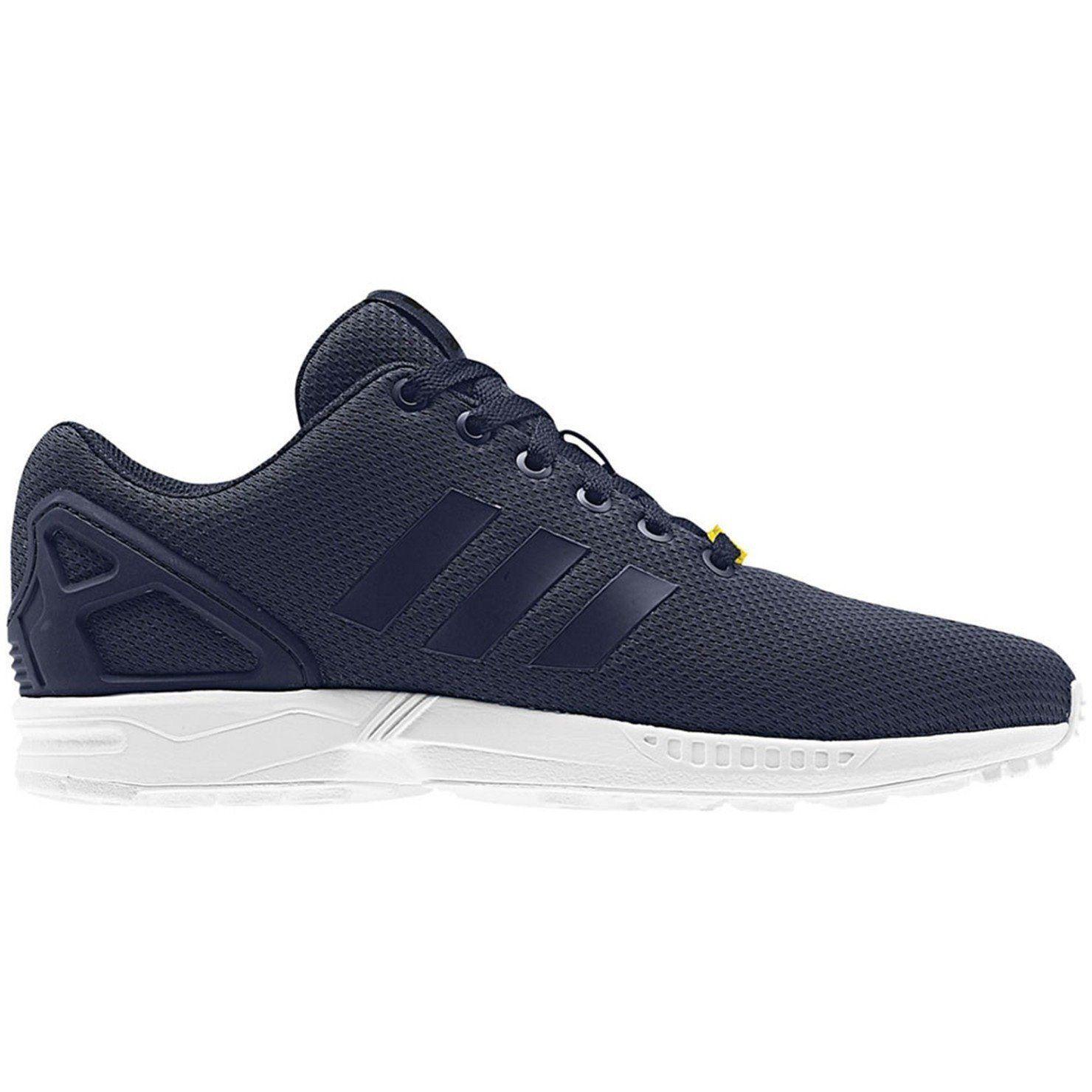 innovative design 2dc96 48239 Adidas ORIGINALS ZX FLUX formateurs marine espadrilles chaussures 3 STRIPES taille  UK 8 hommes