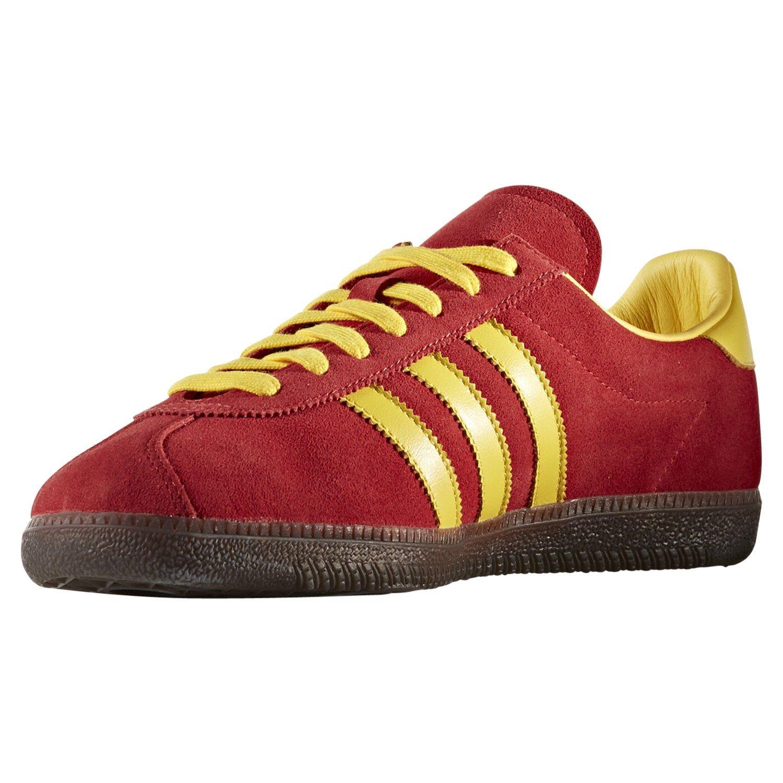 Casual Amarillo de Zapatillas Retro Spiritus Spzl Originals Zapatillas Rojo Detalles Adidas OPkn0w