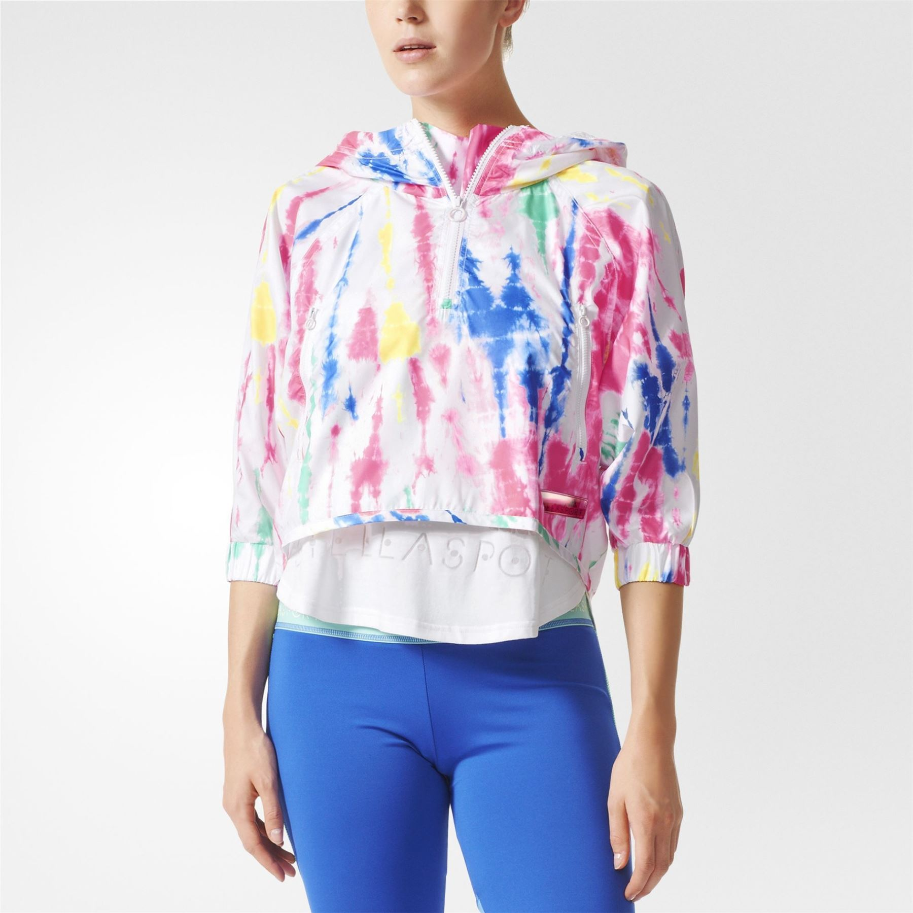 Veste De Sport Légère Bleue Adidas By Stella Mccartney