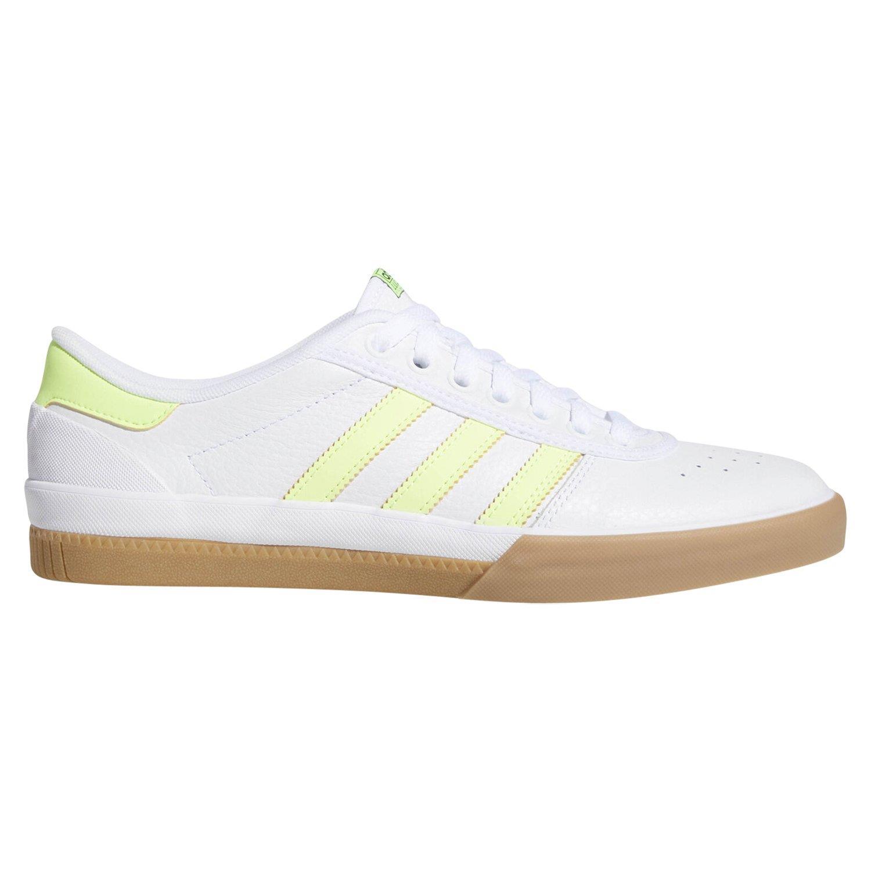 Détails sur Adidas Originaux HOMME Lucas Première Chaussures Blanc Puig Skateboard Baskets