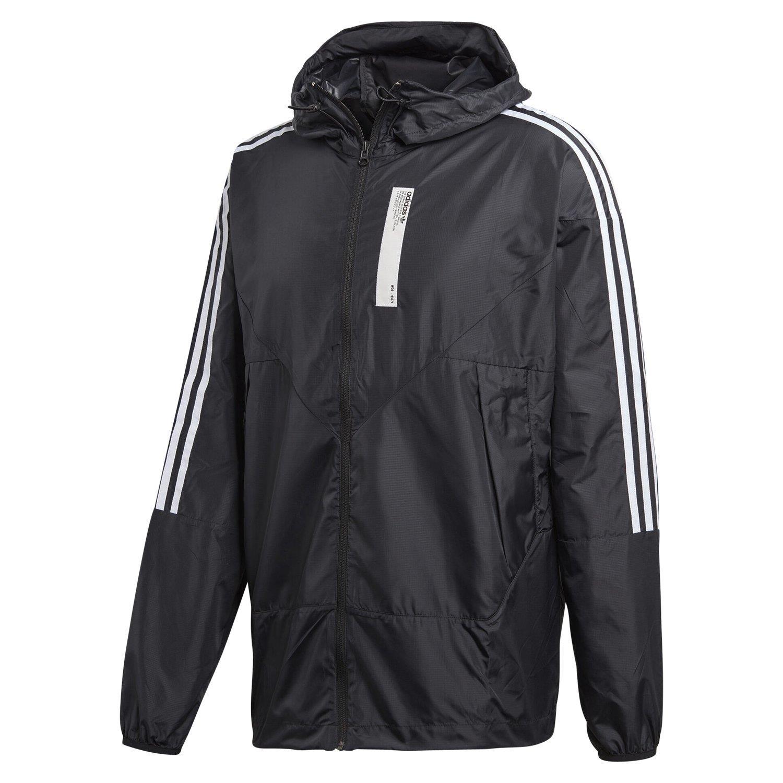 Détails sur Adidas Originaux HOMME Nmd Karkaj Coupe Vent Noir Veste Marche à Capuche