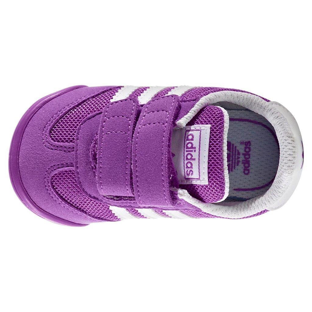 c66f8fad3 Adidas ORIGINALS L2W DRAGON entrenadores cuna zapatos botines niñas RETRO  nueva