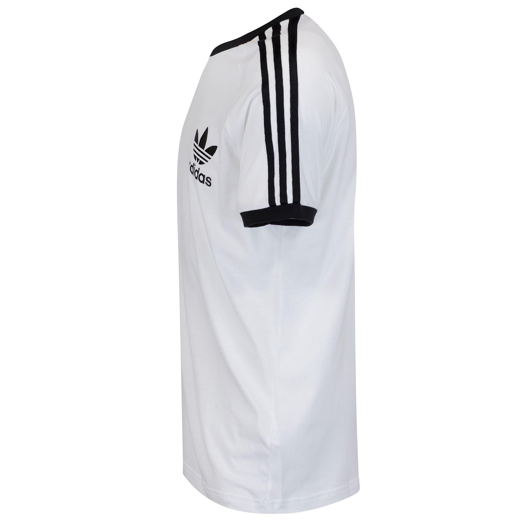 Détails sur Adidas Originals affectés T Shirt California rétro vintage trefoil vente Summer Men's afficher le titre d'origine