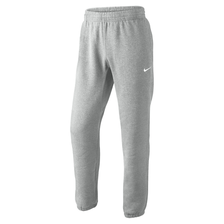 f93270ab4f0f0 Nike S M L XL Club Swoosh Tuta in Pile Grigio UOMO Pantaloni Felpe ...