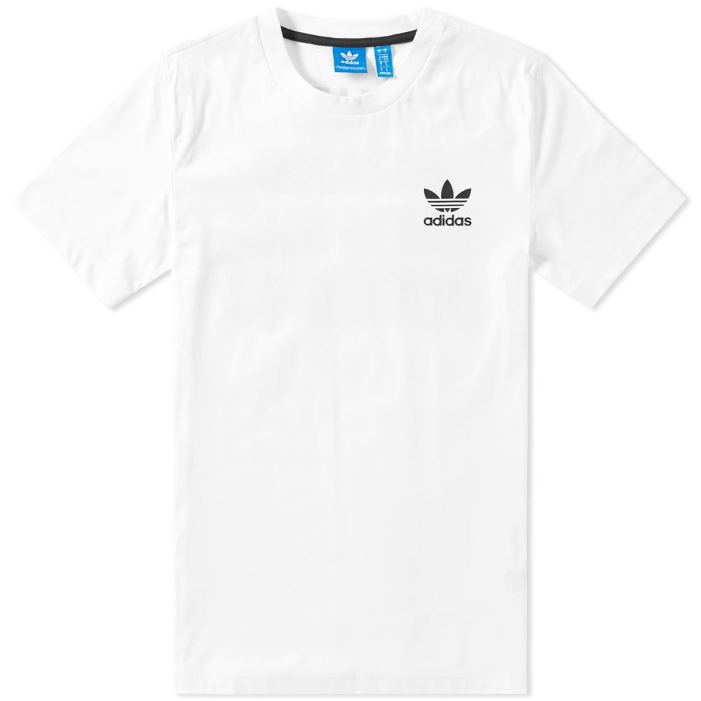Details about adidas ORIGINALS STRIPES SLOGAN T SHIRT MEN'S TREFOIL XS S M L XL CREW NECK
