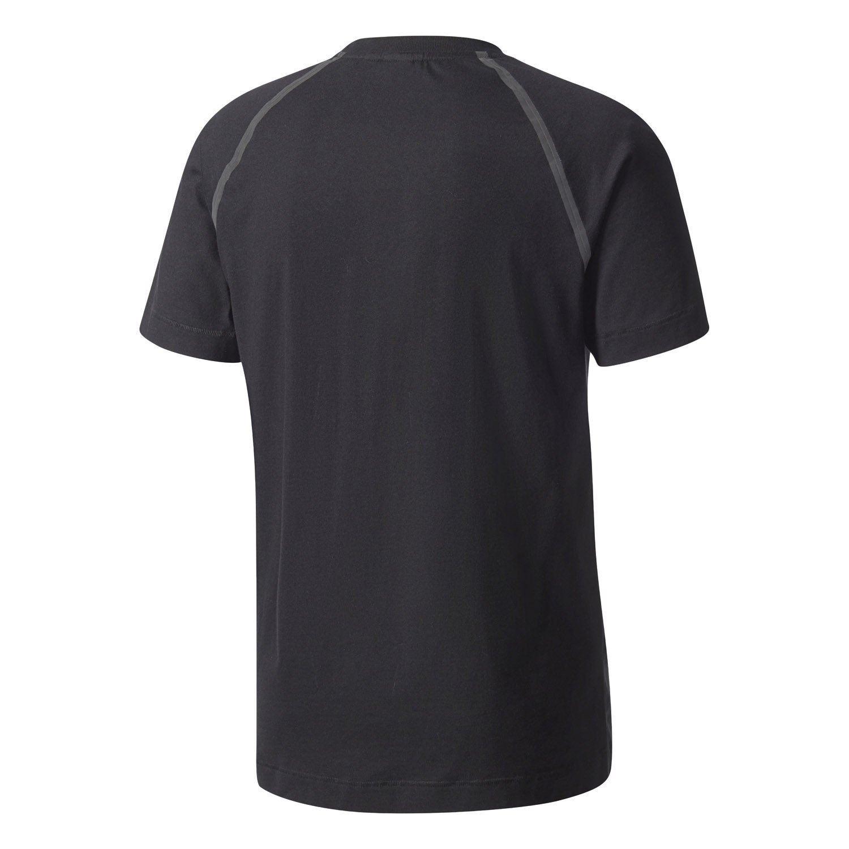cfc02d9171d2d NMD T Camisa cuello redondo camiseta XS S M L XL 3 rayas Adidas ORIGINALS  hombre negras