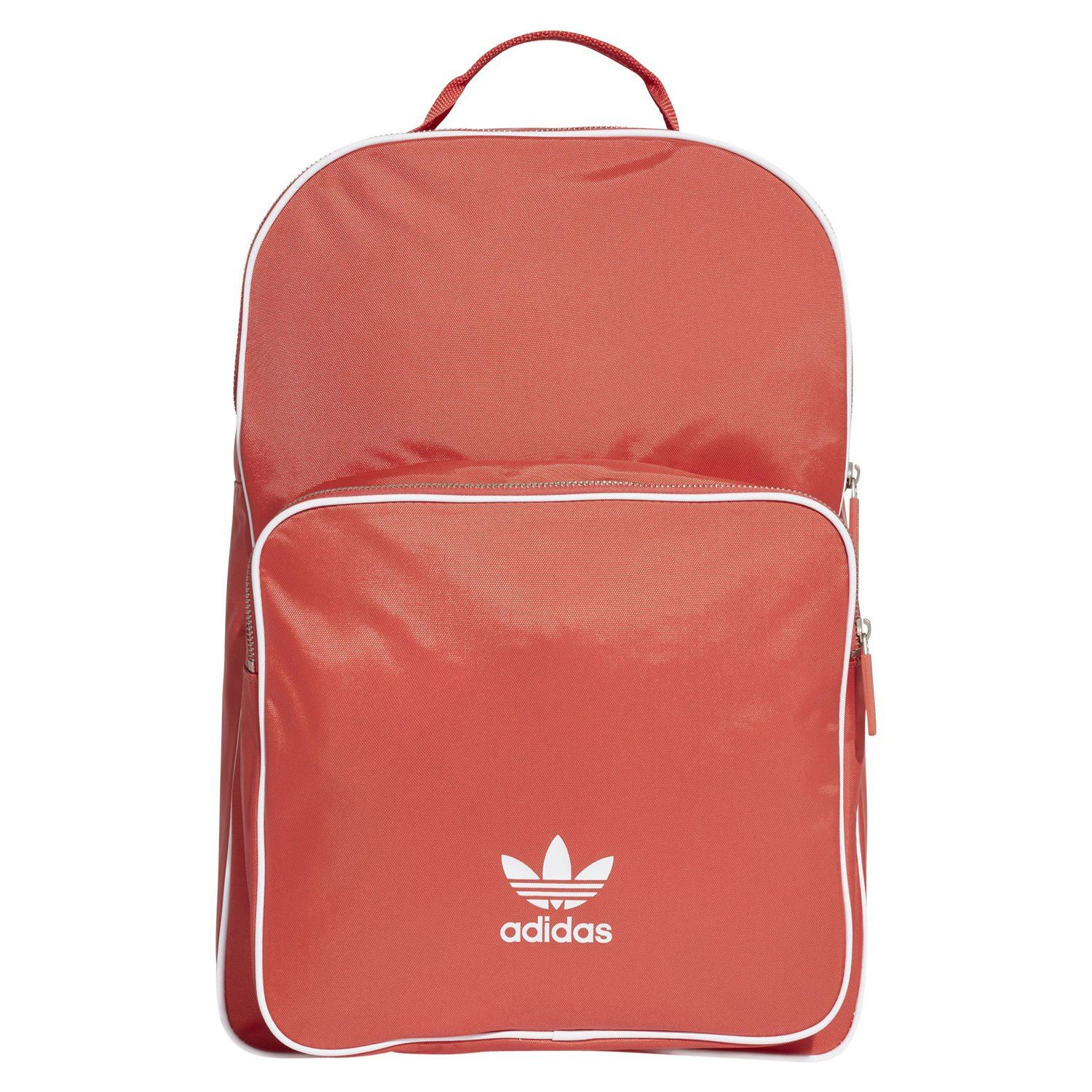 007374a11d99 Details about adidas ORIGINALS UNISEX ADICOLOR BACKPACK RUCKSACK RED RETRO  VINTAGE NEW BNWT
