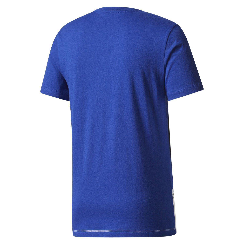 adidas originals shirt blau herren